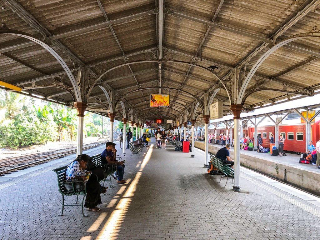pociągi na Sri Lance
