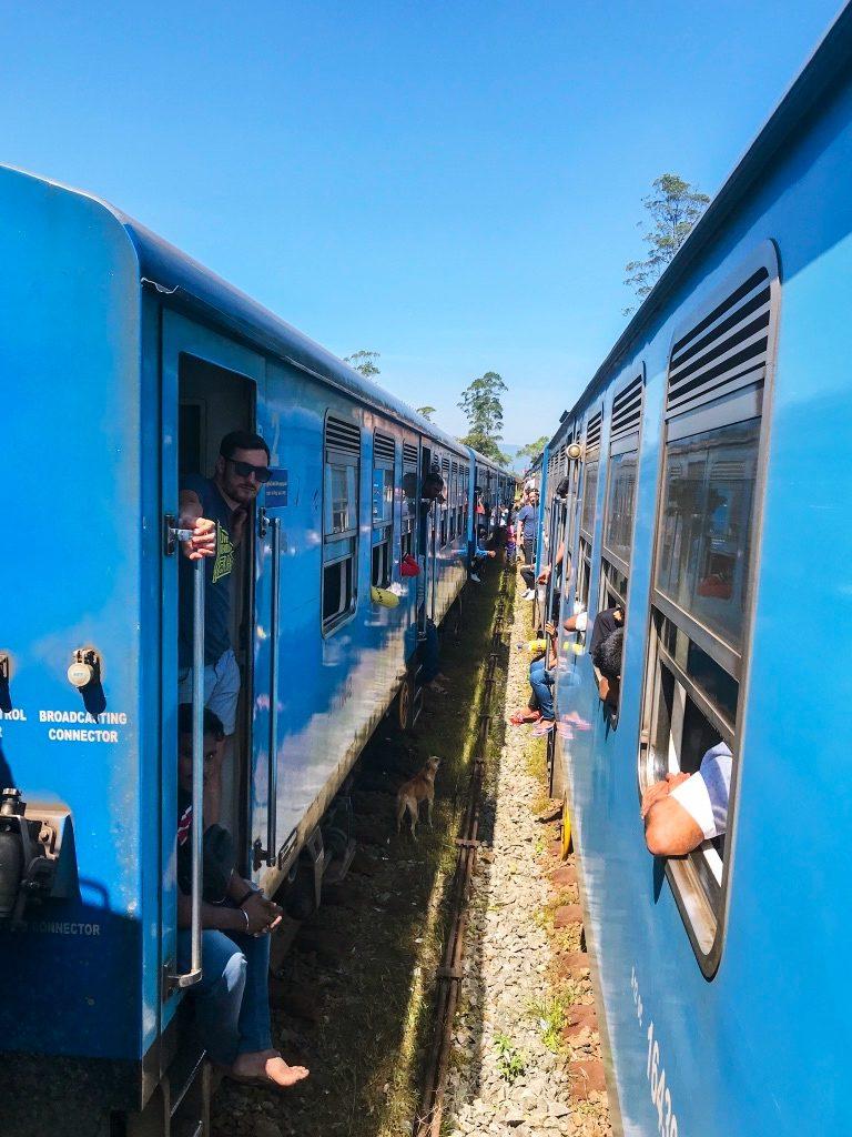 Sri Lanka - najpiękniejsza trasa kolejowa. Blue Train