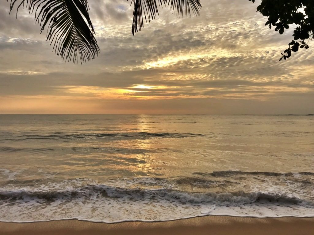 Tangalla Sri Lanka sunset